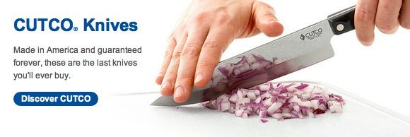 """La garantie Cutco - """"C'est la dernière fois que vous aurez à acheter des couteaux"""""""