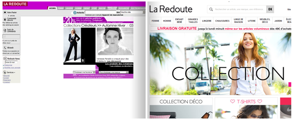 La Redoute | 2003 - 2013