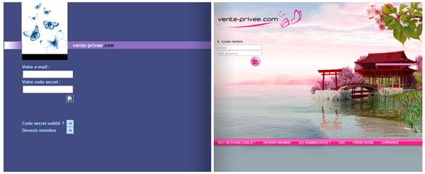 Vente Privée | 2001 - 2013