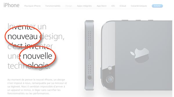 Fiche Produit Apple
