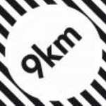 Logo 9 km