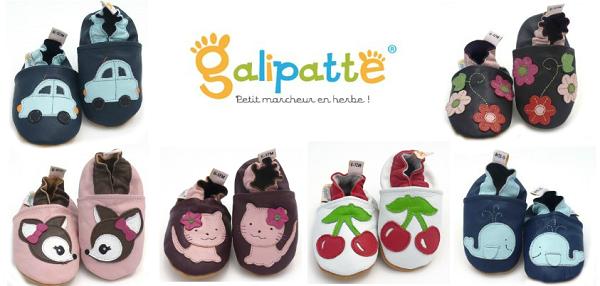 chaussons pour bébé galipatte boutique en ligne
