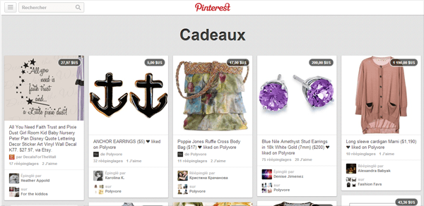 Pinterest E-commerce
