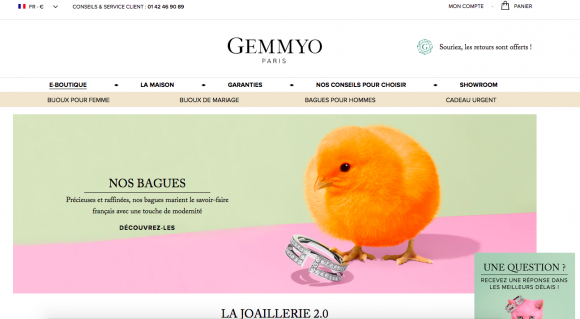 site-ecommerce-luxe-gemmyo
