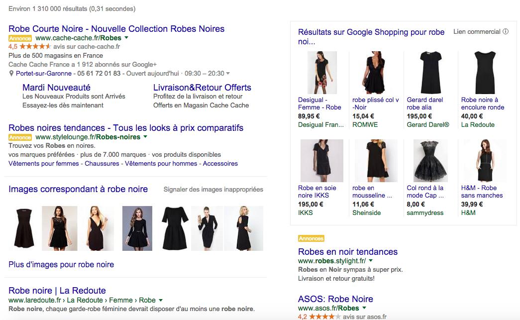 Résultats-google-shopping-robe-noire