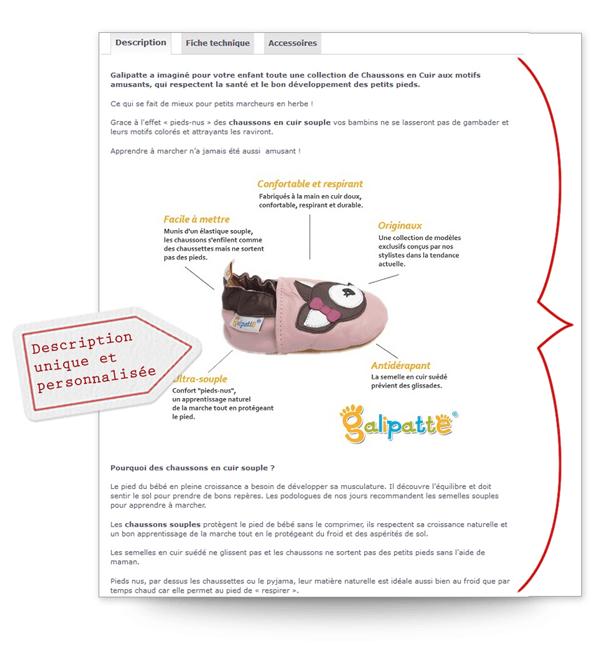 page-produit-ecommerce